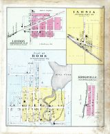 London, Rome Plat, Kroghville, Ixonia, Jefferson County 1899